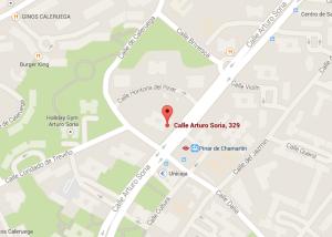 Mapa Arturo Soria 329